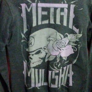 Traded*Metal Mulisha zip up hoodie size medium